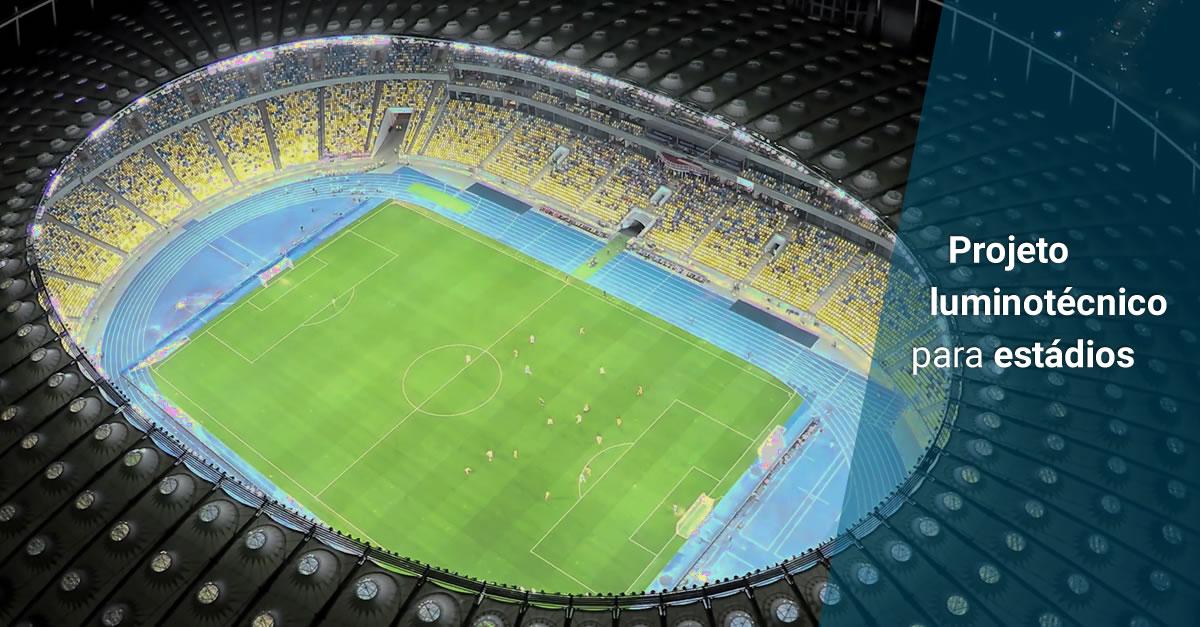 Iluminação em estádios