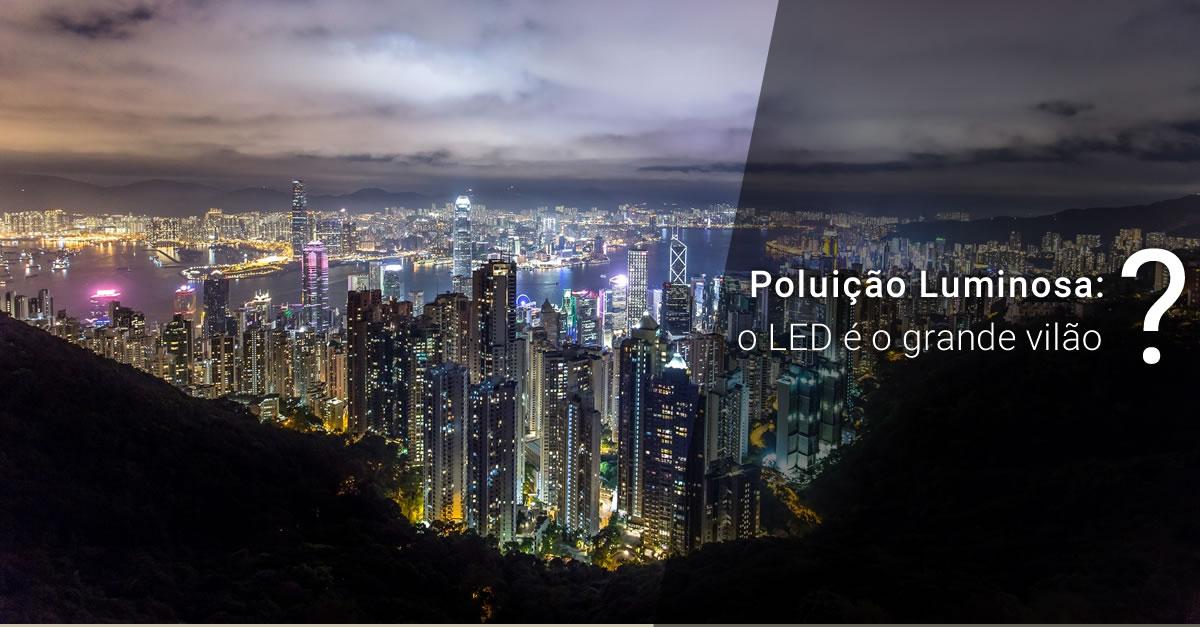 Poluição luminosa